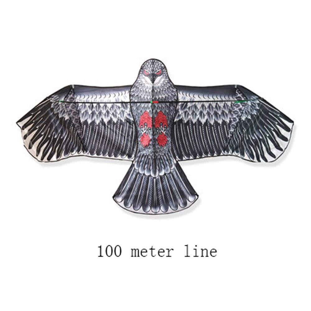 LONGLONGJINGXIAO Cerf-Volant - Jouets cerf-Volant - Jeux de vol en Plein air - Cerf-Volant à Longue Queue - Cerf-Volant Adulte pour Enfant - Cerf-Volant pour Chien ( Design : A )