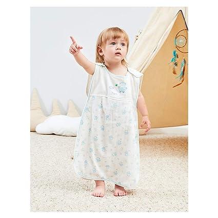 Vandesun - Saco de dormir para bebé (2,5 tog, 2 capas, unisex, para recién nacidos, de 0 a 3 años, diseño de conejo, oveja, coche y oso de dibujos ...
