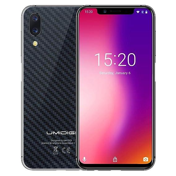 Amazon Com Umidigi One Pro 4gb 64gb Face Id Side Fingerprint