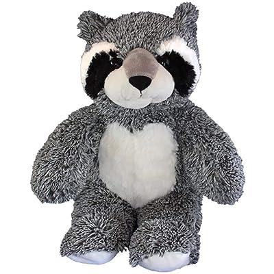 Cuddly Soft 16 inch Stuffed Bandit the Raccoon - We stuff 'em...you love 'em!: Toys & Games