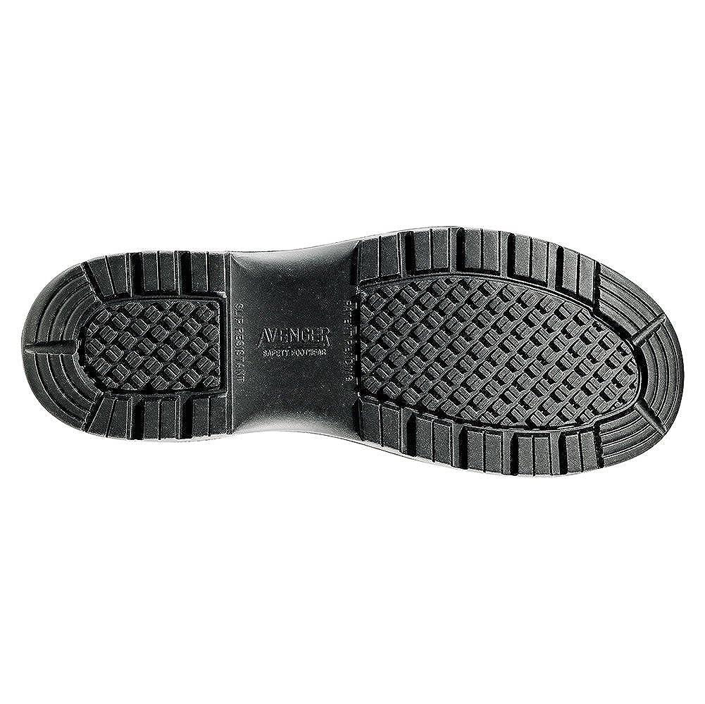 Avenger Mens Side-Zip Work Boot Composite Toe