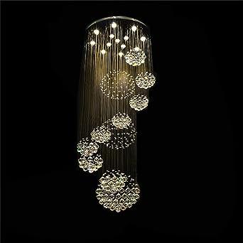 Moderne, Große Kronleuchter Lampe Für Die Lobby, Treppe, Treppen, Foyer  Lange Spirale