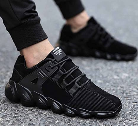 Men Breathable Sneakers 2017 Autumn Winter Trainers Low Top Cushioning Air  Cushion Running Shoes: Amazon.co.uk: Sports & Outdoors