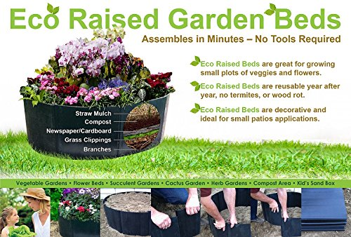 Century Products ECO Raised Garden Beds-Single For Sale