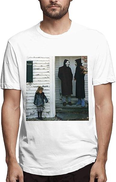 Camiseta Blanca de algodón para Hombre The Devil and God Are ...