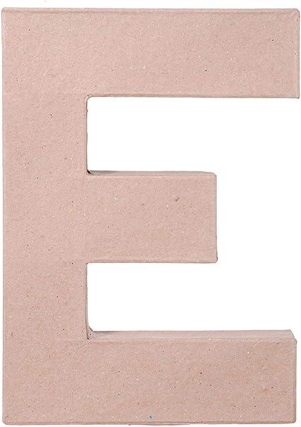 2862-S 3-Pack Darice Bulk Buy DIY Paper Mache Letter 8 x 5.5 x 1 inches