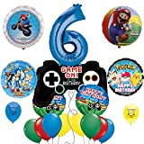 : Video Game Birthday Party Supplies 6th Birthday Party Balloon Decoration Kit
