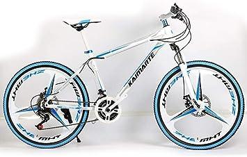 WJSW Bicicleta de montaña rígida de 24 Pulgadas y 24 velocidades ...