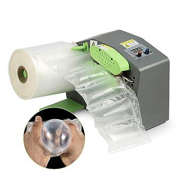 IDABAY Máquina para hacer burbujas de aire/Cojín de aire Air Bag Máquina de burbujas