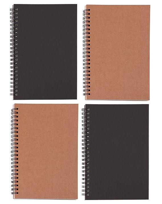 Amazon.com: Cuaderno en espiral, 2 unidades de bloc de ...