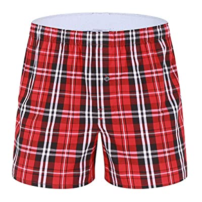 ANJUNIE Men's Boxer Briefs Pajama Home Shorts Casual Household Pants Underwear Beach Short Trouser: Clothing