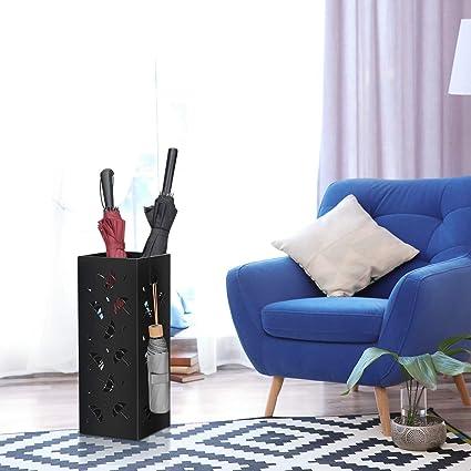 DREAMADE Portaombrelli Contenitore per Ombrelli da Pavimento in Metallo Ressistente per Ingresso medello 1