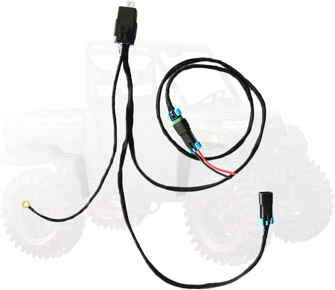 Auto Turn on in Reverse with User Manual XP 1000 Premium 3-Seat and Crew Reverse Light Harness for 2018-2020 Polaris Ranger 1000