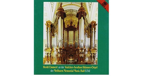 Bach, Rheinberger, Rudinger, Reger, Heidi Emmert - Plays the