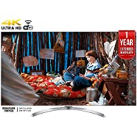 LG 60SJ8000 - 60-inch Super UHD 4K HDR Smart LED TV (2017 Model) + 1 Year Extended Warranty (Certified Refurbished)