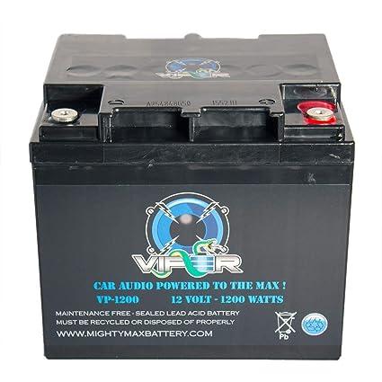 amazon mighty max battery viper vp 1200 1200 watt power cell Car Audio Voltage mighty max battery viper vp 1200 1200 watt power cell car battery audio system