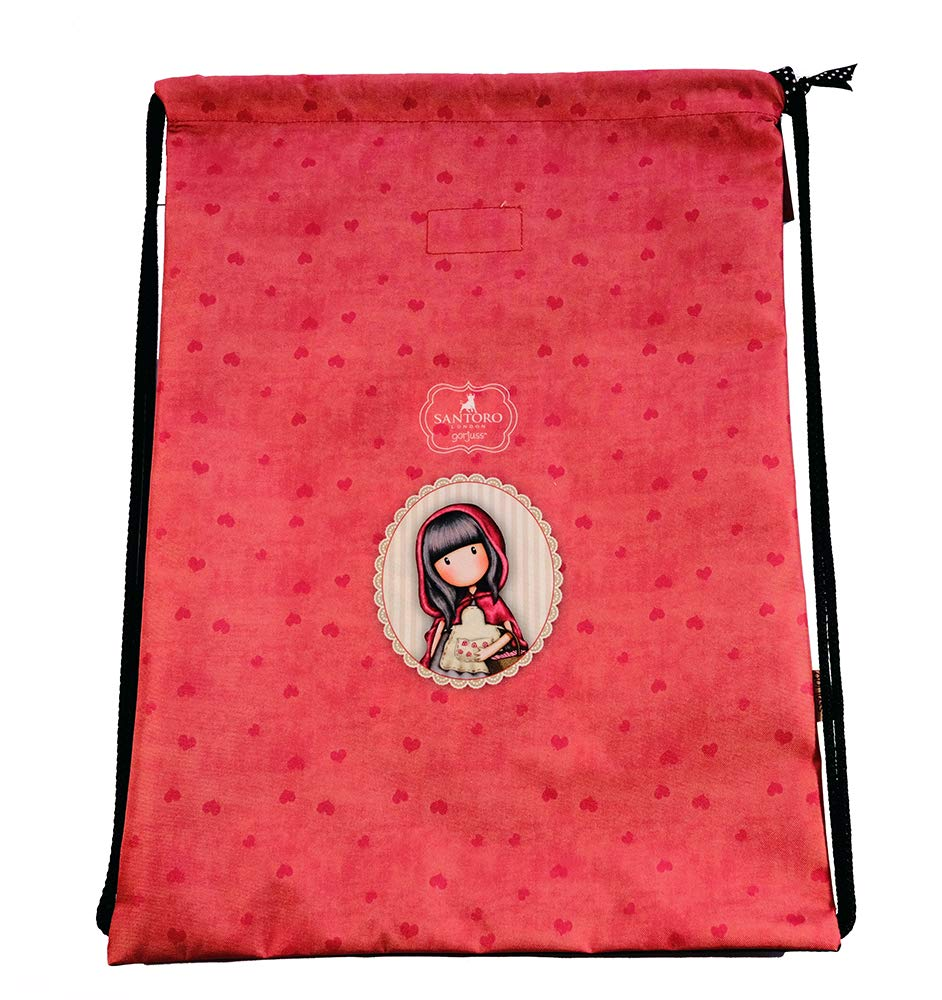 Multicolore 44 cm Red Schwarz GORJUSS Little Red Riding Hood Cabas de Fitness
