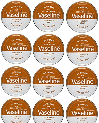 Vaseline Lip Balm 20g/0.705oz (12x20g/0.705, Cocoa Butter) ()