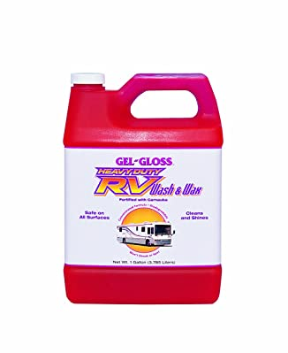 Gel-Gloss RV Wash and Wax - 128 oz