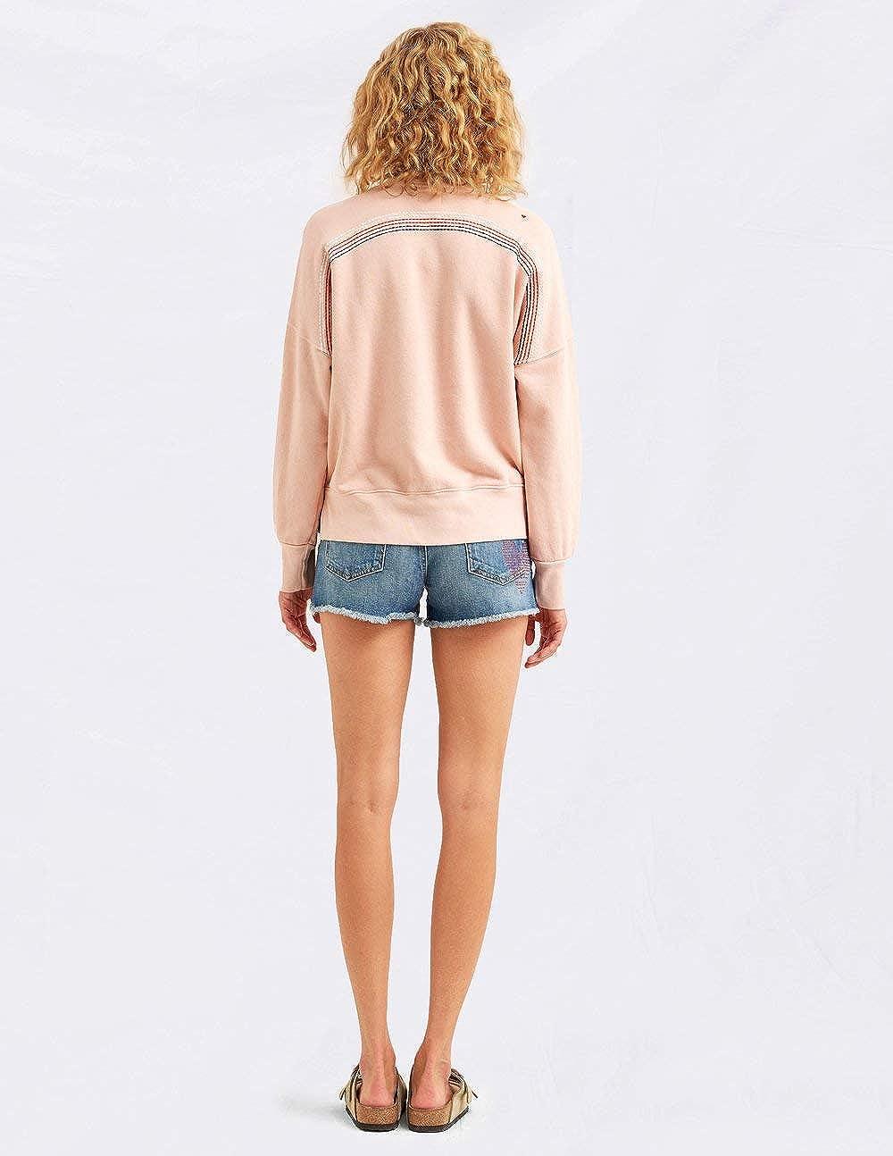 SUNDRY Back Stitch Sweatshirt