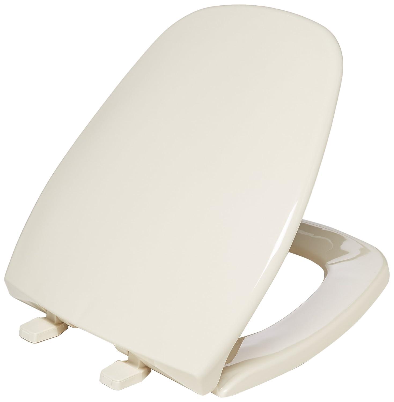 Fantastic Bemis 1240200 036 Eljer Emblem Plastic Toilet Seat Round Natural Ibusinesslaw Wood Chair Design Ideas Ibusinesslaworg