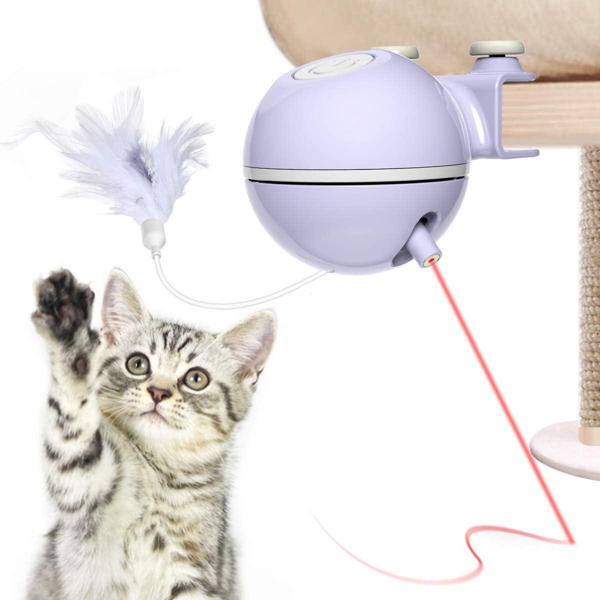 DADYPET Juguetes para Gatos interactivos,Electrónico Juguete Gato ...