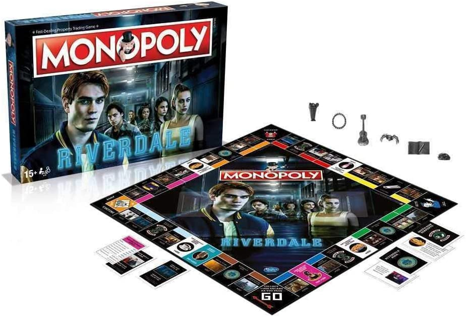 Winning Moves Riverdale Board Game Monopoly *English Version* Games Accessories: Amazon.es: Juguetes y juegos