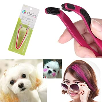 Amazon.com : Dog Hair Coloring Tool Hair Bleach Pet Hair Styling ...