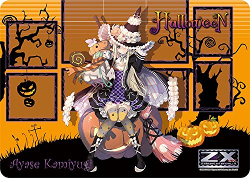 Mtg Cosplay Costumes (Ayase Kamiyugi Halloween Z/X Ignition Card Game Character Rubber Play Mat Anime Girl Cosplay Costume Zillions of Enemy X Illust. Gin (oyoyo))