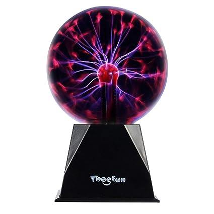 Amazon.com: Theefun MB101 - Lámpara de bola de plasma mágico ...