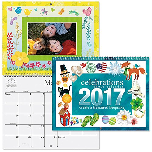 2017 Celebrations Scrapbooking Wall Calendars