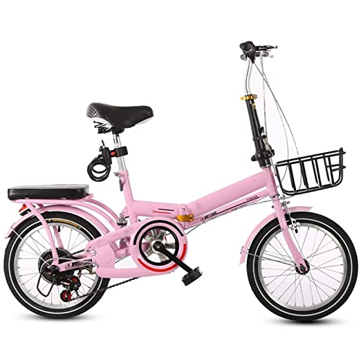 YUMEIGE Bicicletas Bicicleta Infantil para niños y niñas Plegable ...