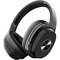 EKSA Over-Ear 40mm Bluetooth Headphones with Protein Earpads for Travel Airplane Laptop