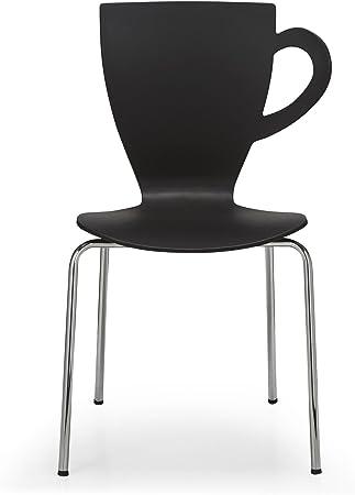 Alinea Ccino Chaise De Cuisine Noire Noir X54 5x52 0x60 0 Amazon