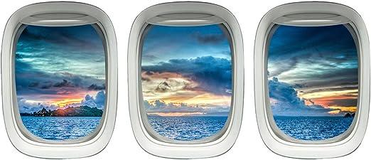 Amazon Com Aircraft Windows Aviation Wall Decor Plane Window