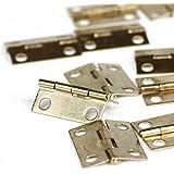 Foxnovo Mini Cabinet Hinges Connectors - 30pcs (Golden)