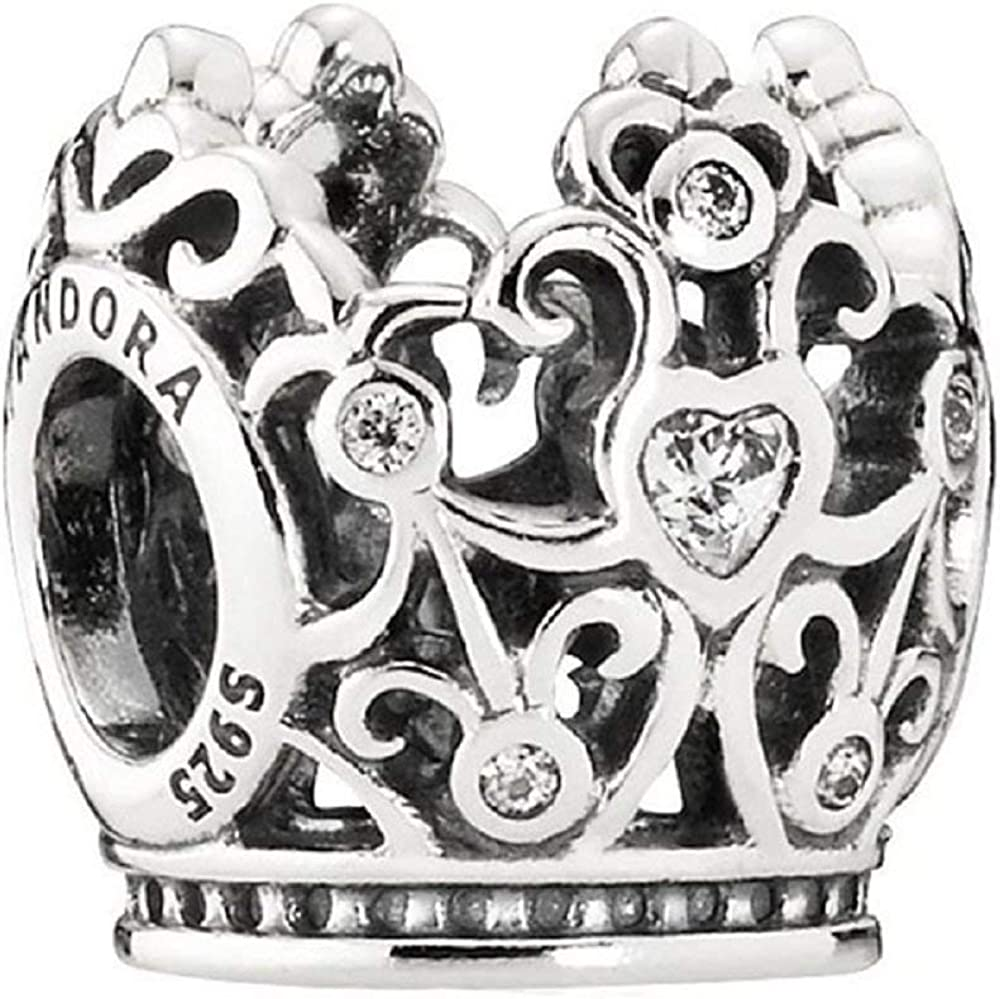 Pandora Limited Disney Princess Crown Clear Cz 791580cz