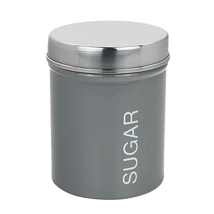 Harbour Housewares Metal Coffee Sugar Secure Rubber Seal
