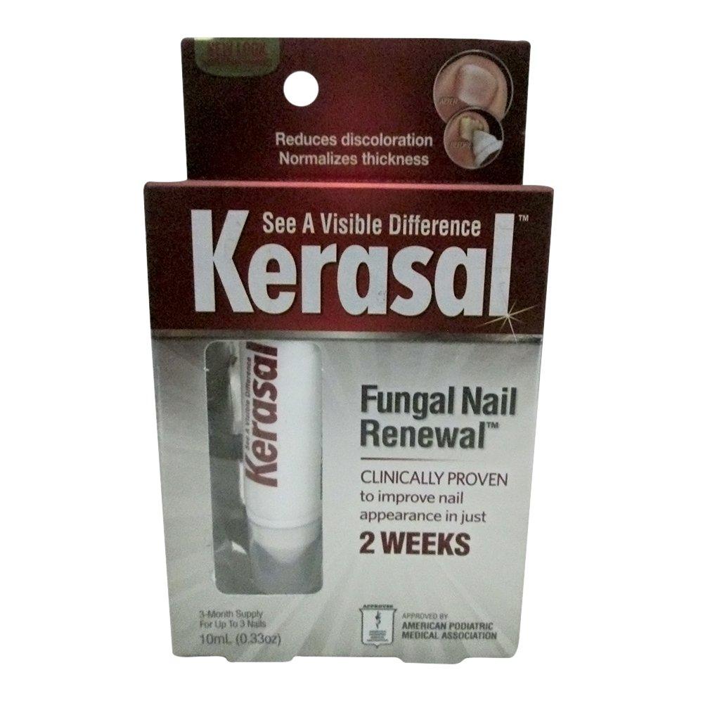 Kerasal Nail Fungal Nail Renewal Treatment 10ml (2 Pack) free ...