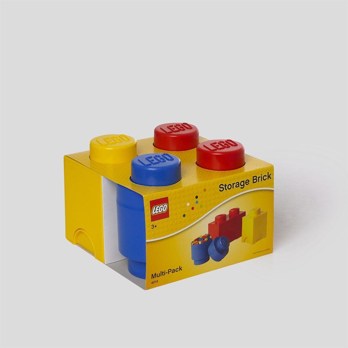 4-Piece Room Copenhagen Lego Storage Brick Multipack Neutral