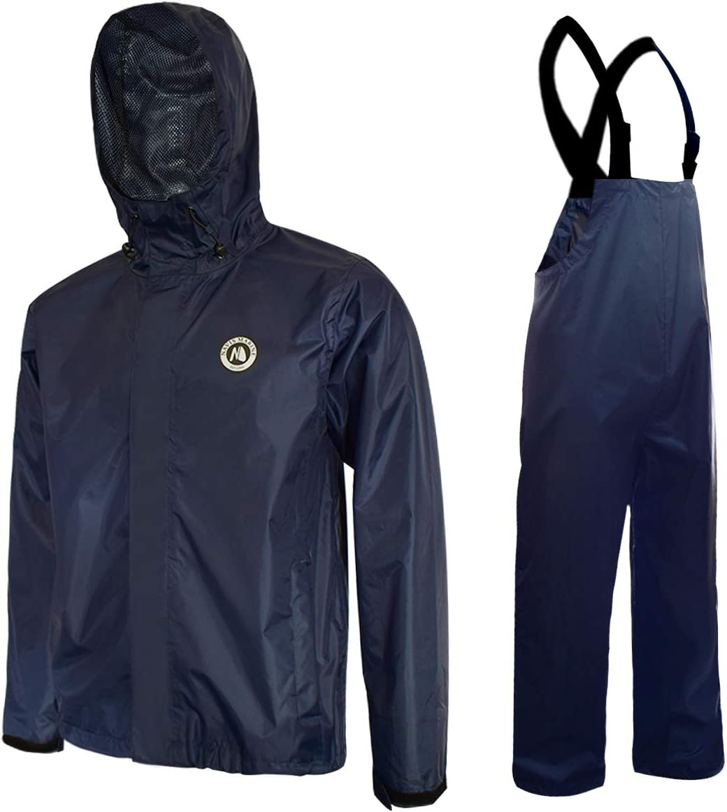 Mens Waterproof Rain Over Trousers or Jacket Over-trousers Fishing Total Storm