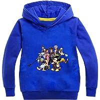 Kingdom Hearts Pullover Casual clásico suéter de los niños del salvaje tendencia suéter flojo cuello redondo salvaje…