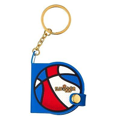 Amazon.com: Smiggle - Llavero de baloncesto pequeño para ...