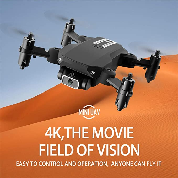 LSRC Mini Drone 4K  HD Camera RC quadcopter Foldable RC Drones WiFi FPV