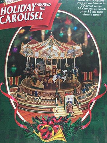 - Mr. Christmas holiday  around the carousel