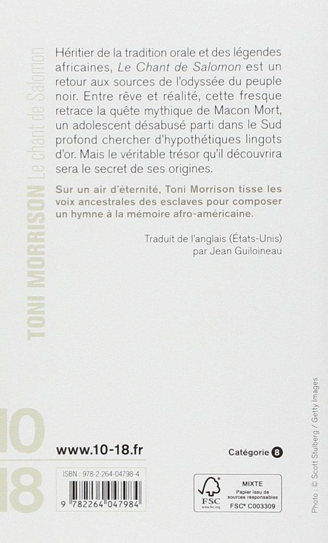 Morrison De Toni Le Jean Salomon Chant Guiloineau qFwcI4H
