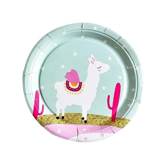Case&Cover 8 Partido Alpaca Piezas De Disfraces Desechables ...