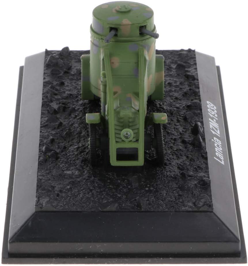 Non brand Sharplace 1:72 Scala Modello Diecast Carro Armato Esercito Soldato Decorazione Collezione Lega Plastica