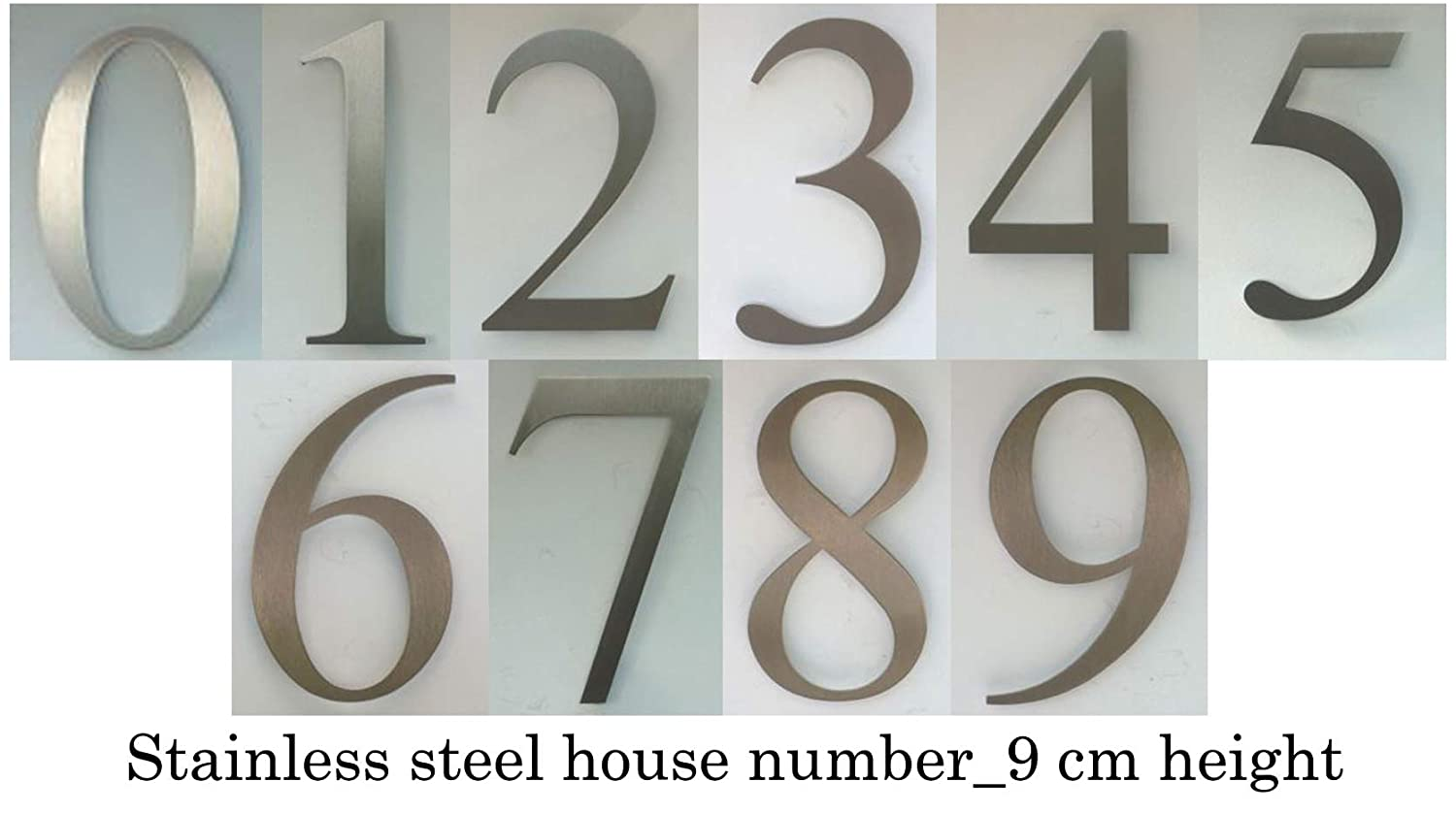 OFFORM I Door Number I Stainless Steel I2 I 85x85 mm I Nr.48302 Hardware Door Hardware & Locks