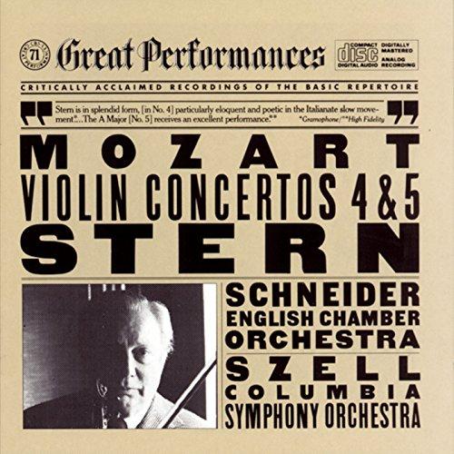 (Mozart: Violin Concertos Nos. 4 & 5)